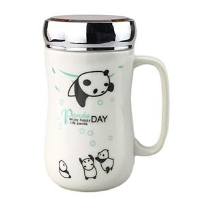 Adorable White Panda Seri...