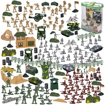 Blue Panda 300-Piece Army...